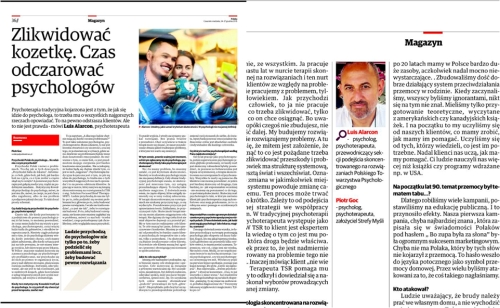 wywiad Piotra Goca z Luise Alarconem Ariasem
